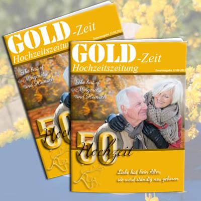 Hochzeitszeitung hochzeit inhalt goldene Ideen Fotobuch